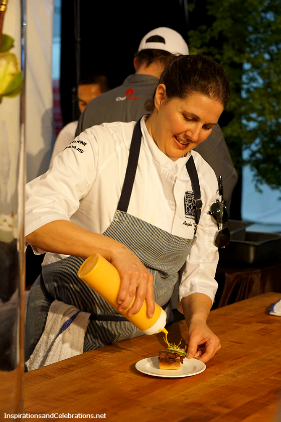 The Best of The Fest - 2016 Pebble Beach Food and Wine Highlights - Chef Angela Tamura for Peppoli
