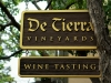 The Deluxe Central Coast Vacation Giveaway - De Tierra Vineyards Sign
