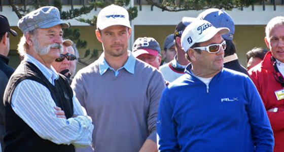 The 2013 AT&T Pebble Beach National Pro-Am Golf Tournament Brings Out Top Celebrities and Entertainers