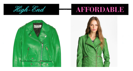 High-End vs. Affordable Fashion: Spring 2013 Trends