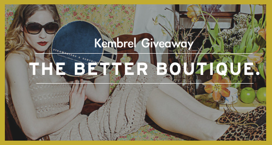 Kembrel Giveaway - Featured Image