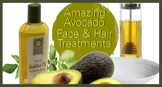 Amazing Avocado Face and Hair Treatments