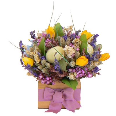 Easter Floral Table Centerpiece