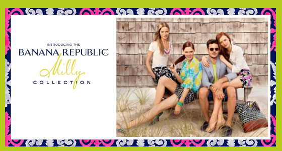 Banana Republic Milly Collection