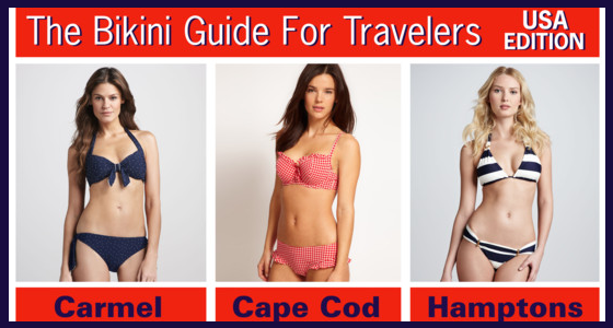 Bikini Guide For Travelers – USA Edition