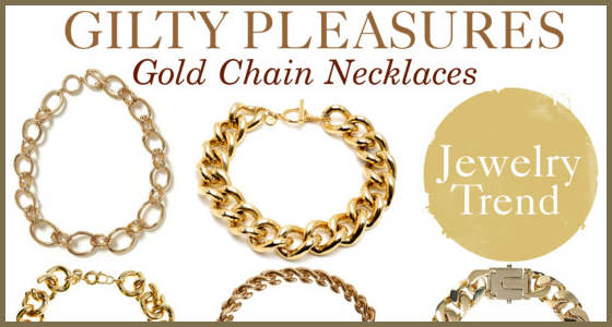 Gold Chain Necklaces Jewelry Trend
