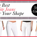 The Best White Jeans For Your Shape