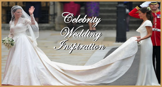 Celebrity Wedding Inspiration