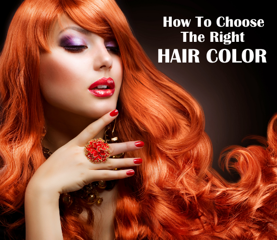 how to choose a hair color hair colors for your skin tone ...