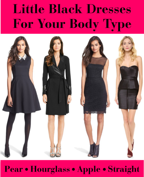 LITTLE BLACK DRESSES FOR YOUR BODY TYPE