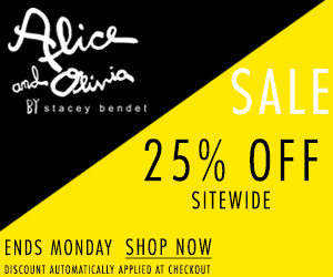 Alice + Olivia Black Friday 2013
