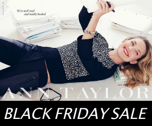 Ann Taylor Black Friday 2013