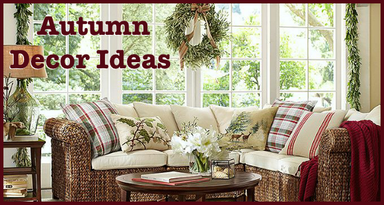 Autumn Decor Ideas - Holiday Decorating