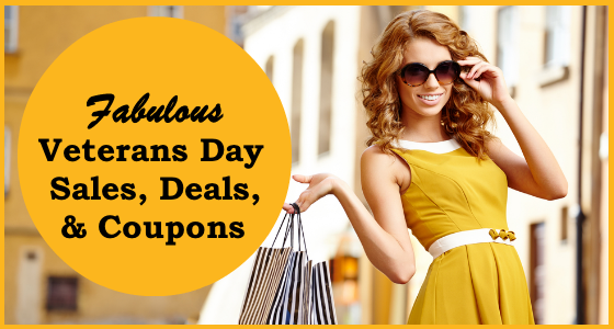 Fabulous Veterans Day Sales Deals Coupons