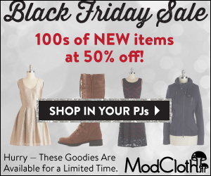 ModCloth Black Friday 2013