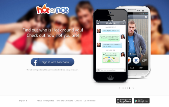 Hot or Not Dating App - Online Dating