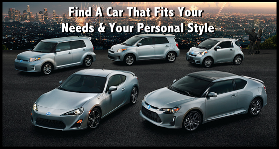 Scion - Find A Car That Fits Needs and Your Personal Style