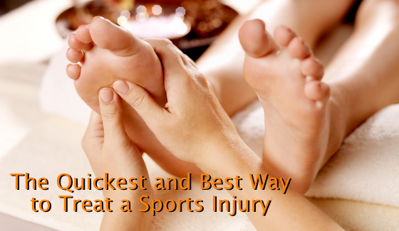 The Quickest and Best Way to Treat a Sports Injury