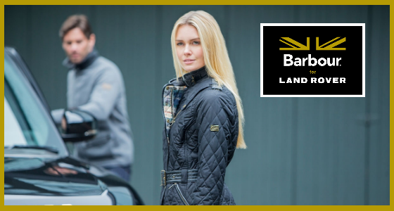 Barbour Land Rover Clothing Line Collection Announced