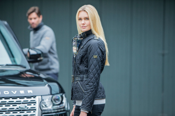 Barbour Land Rover Clothing Line Collection