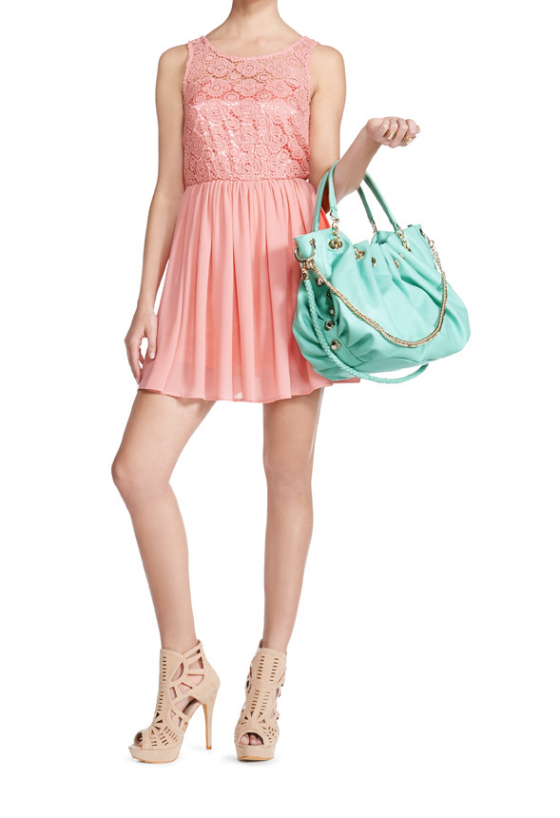 Brigade Mint Bag JustFab Spring Collection