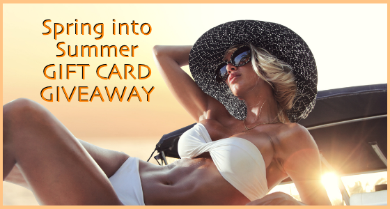 Spring into Summer Gift Card Giveaway