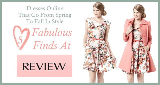5 Fabulous Finds at Review Australia – Dresses Online That Go From Spring into Fall in Style