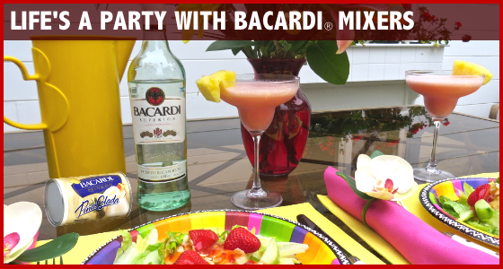 Life's A Party with Bacardi Mixers