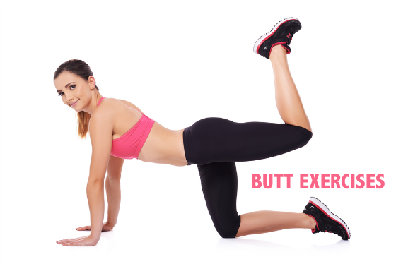 How To Tone Your Lower Body - Butt Exercises