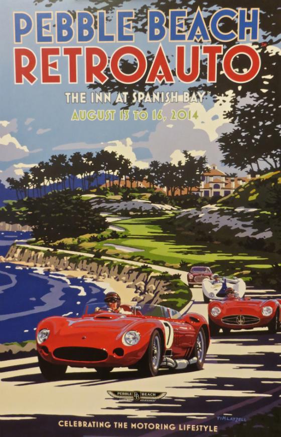 2014 Pebble Beach Concours d'Elegance Retro Auto
