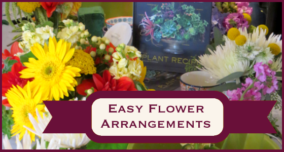 Easy Flower Arrangements - DIY Floral Centerpieces