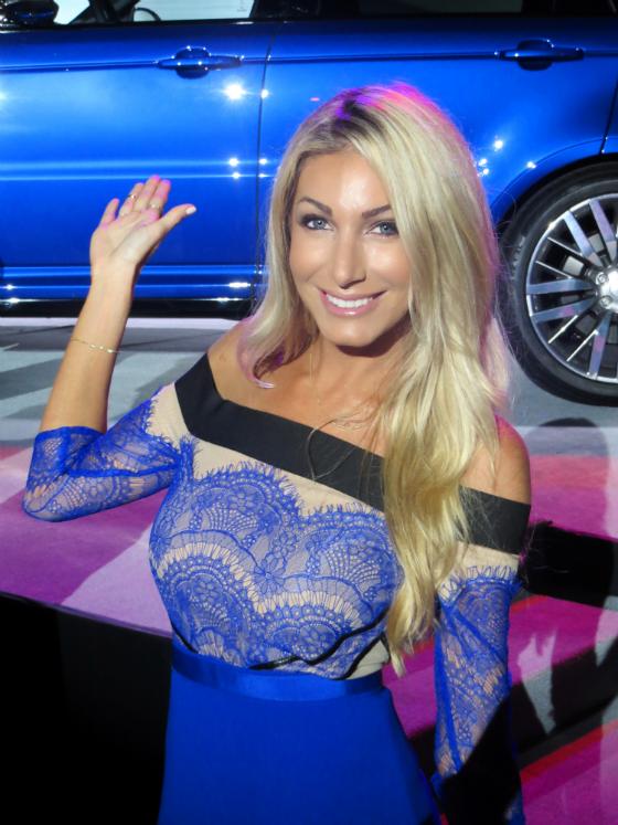 Heather Bilyeu Bravo Million Dollar Listing Jaguar Pebble Beach Concours d'Elegance