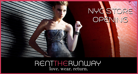 Rent The Runway NYC Store Opening