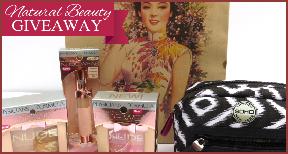 Natural Beauty Giveaway – Win Fabulous Makeup & Beauty Products