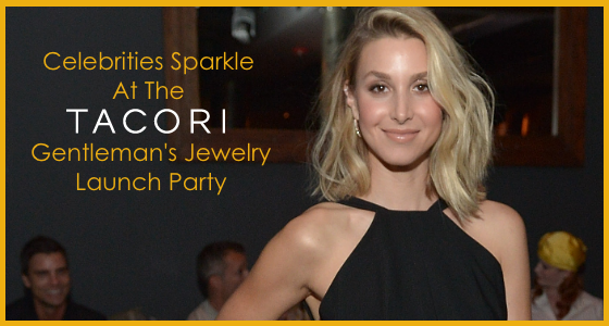 Celebrities Sparkle at the Tacori Gentleman's Jewelry Launch Party