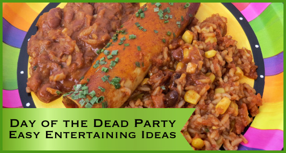Day of the Dead Party Easy Entertaining Ideas