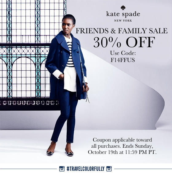 Kate Spade Friends and Family Sale