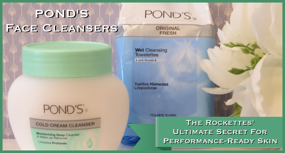 POND'S Face Cleansers The Rockettes Secret
