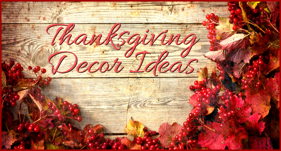 Thanksgiving decor ideas for a warm cozy home for Thanksgiving home ideas