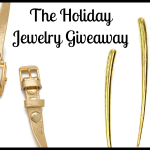The Holiday Jewelry Giveaway – Win a Glamorous Gold Watch, Earrings & Necklace
