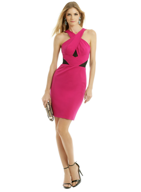New Years Eve Fashion and Beauty Giveaway - Hot Pink Dress