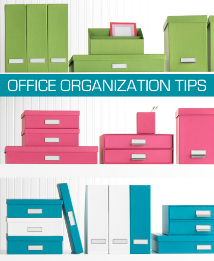 Office Organization Tips Photo