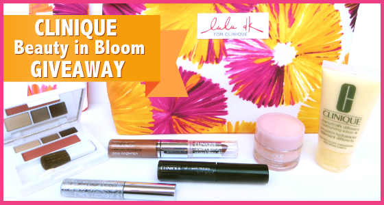 Clinique Beauty in Bloom Giveaway