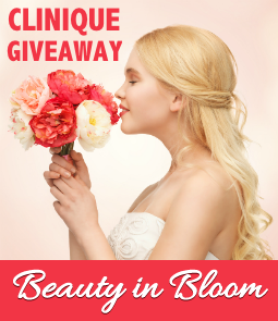 Enter The Clinique Beauty in Bloom Giveaway!