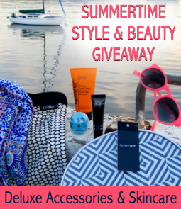 Enter The Summertime Style & Beauty Giveaway!