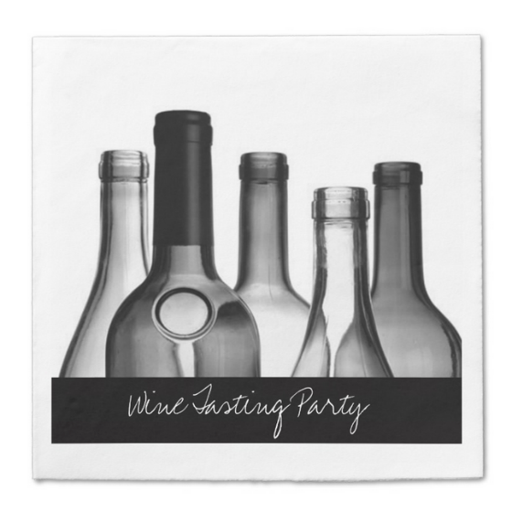 Wine Tasting Party Napkins