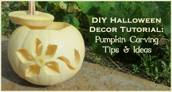 DIY Halloween Decor Tutorial - Pumpkin Carving Tips and Ideas