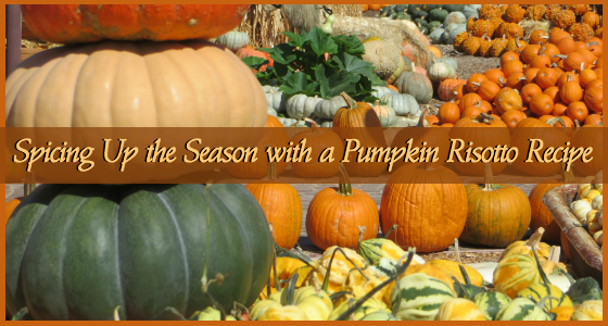 Pumpkin Risotto Recipe from Quail Lodge & Golf Club