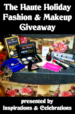 Enter The Haute Holiday Fashion & Makeup Giveaway!