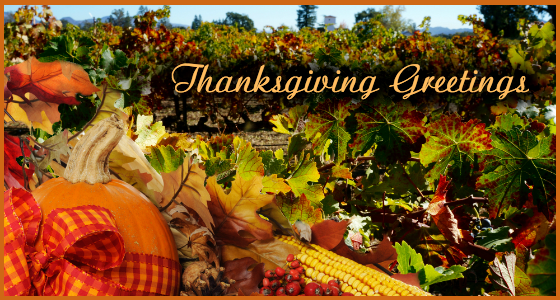 Thanksgiving Greetings and Holiday Wishes